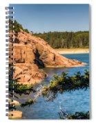 Acadia National Park Rocky Shoreline Spiral Notebook