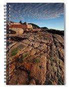 Acadia Rocks Spiral Notebook
