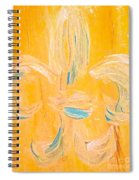 Acadian Flower Spiral Notebook