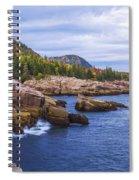 Acadia's Coast Spiral Notebook