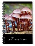 Acceptance 4 Spiral Notebook