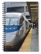Acela Train 14bos072 Spiral Notebook