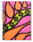 Aceo Abstract Design Spiral Notebook