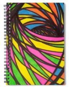 Aceo Abstract Spiral Spiral Notebook