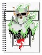 Acid Burn Spiral Notebook