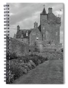 Ackergill Tower 1173 Bw  Spiral Notebook