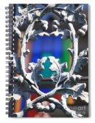Acorn Ironwork Spiral Notebook