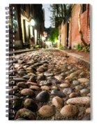 Acorn Street Cobblestone Detail Boston Ma Spiral Notebook