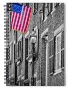 Acorn Street Details Sc Spiral Notebook