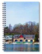 Across From Boathouse Row - Philadelphia Spiral Notebook