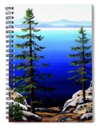 Across Lake Tahoe Spiral Notebook