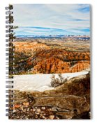 Across The Canyon Spiral Notebook