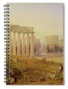 Across The Forum - Rome Spiral Notebook