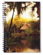 Across The Lagoon Spiral Notebook