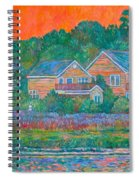 Across The Marsh At Pawleys Island       Spiral Notebook