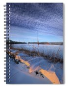 Across The Miles Spiral Notebook