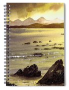 Across To Gigha And Jura Spiral Notebook