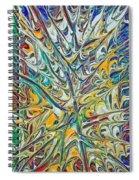 Acrylic Fire 2005 Spiral Notebook