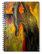 Acrylic Glass Pour 4 Spiral Notebook