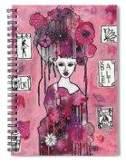 Acrylic Variations Kitri Spiral Notebook