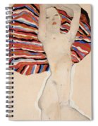 Act Against Colored Material Spiral Notebook