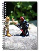 Action Figures Spiral Notebook