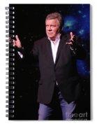 Actor And Comedian William Shatner Spiral Notebook