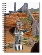 Actor Jonathan Harris As Dr Smith From Lost In Space II Spiral Notebook