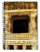 Adalaj Stepwell 3 Spiral Notebook