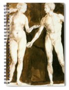 Adam And Eve 1504 Spiral Notebook