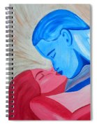 Adam And Eve Close Up Spiral Notebook