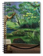 Adam And Eve Display Spiral Notebook