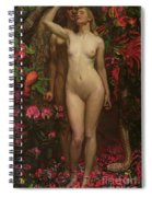Adam And Eve With The Snake Spiral Notebook