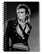 Adam Ant Painting Spiral Notebook