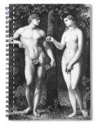 Adam & Eve Spiral Notebook