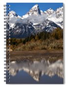 Adam Jewell At Schwabacher Landing Spiral Notebook