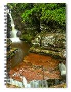 Adams Falls Landscape Spiral Notebook