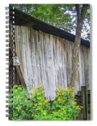 Adams/san Toy Covered Bridge  Spiral Notebook