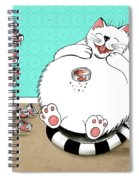 Addicted To Tuna Spiral Notebook
