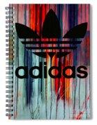 Adidas Plakative - Typografie Spiral Notebook
