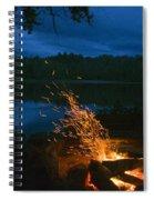 Adirondack Campfire Spiral Notebook