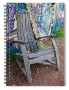 Adirondack Chair ? Spiral Notebook