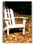 Adirondack Chair Spiral Notebook