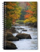 Adirondack Fall Stream 2 Spiral Notebook