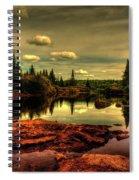 Adirondack Inlet Spiral Notebook