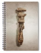 Adjustable Wrench Right Face Spiral Notebook