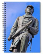 Admiral David Farragut In Farragut Square Spiral Notebook