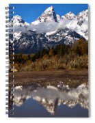 Admiring The Teton Sights Spiral Notebook