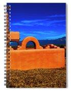 Adobe At Sunset Spiral Notebook