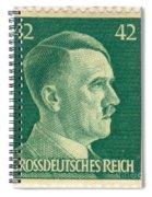 Adolf Hitler 42 Pfennig Stamp Classic Vintage Retro Spiral Notebook